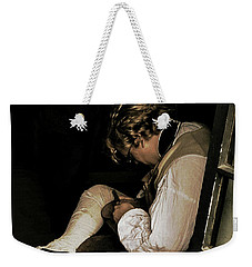 Weekender Tote Bag featuring the photograph The Cobblers Window by Bruce Carpenter