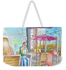 The Coffee Bean In Sunset Blvd Acroos Directors Guild, West Hollywood, California Weekender Tote Bag