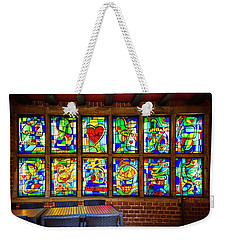 Weekender Tote Bag featuring the photograph The Coffee Shop On Bottcherstrasse Bremen by Carol Japp