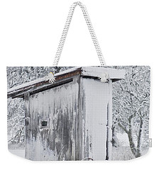 The Coldest Fifty Yard Dash Weekender Tote Bag by Benanne Stiens