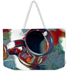 The Color Of Coffee Weekender Tote Bag by Robert Meanor