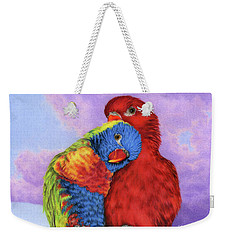 The Color Of Love Weekender Tote Bag