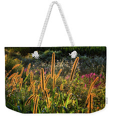 Weekender Tote Bag featuring the photograph The Color Of Summer 2017 by Bill Wakeley