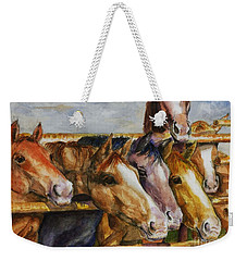The Colorado Horse Rescue Weekender Tote Bag