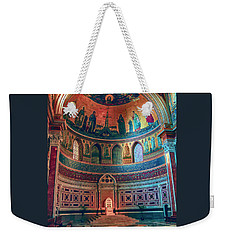 The Colorful Interior Of Roman Catholic Cathedral Weekender Tote Bag
