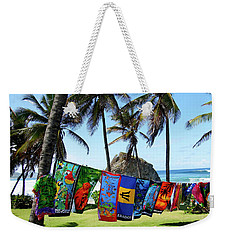Weekender Tote Bag featuring the photograph The Colors Of Barbados by Kurt Van Wagner