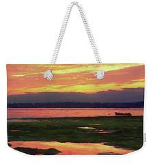 The Colors Of Ship Creek Weekender Tote Bag