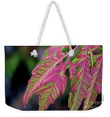 The Colors Of Shumac 9 Weekender Tote Bag