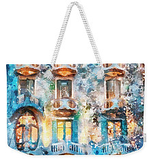 The Colors Of Spain Weekender Tote Bag by Shirley Stalter