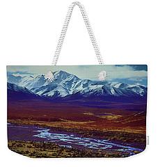 The Colors Of Toklat River Weekender Tote Bag
