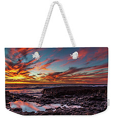 The Colour Of Dusk Weekender Tote Bag