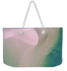 Weekender Tote Bag featuring the photograph The Colours And Patterns Of The Noosa River by Keiran Lusk