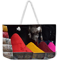 The Colours Of Holi Weekender Tote Bag
