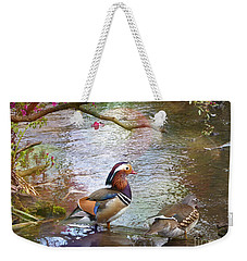 Weekender Tote Bag featuring the photograph The Colours Of Spring by LemonArt Photography
