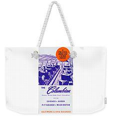 The Columbian Weekender Tote Bag