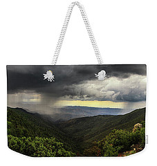 Weekender Tote Bag featuring the photograph The Coming Storm by Rick Furmanek