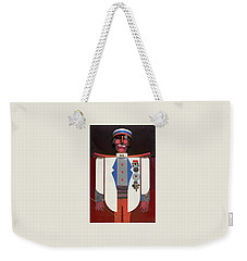 The Commander Weekender Tote Bag