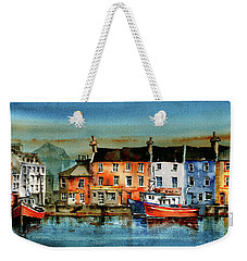 The Commercial Docks, Galway Citie Weekender Tote Bag