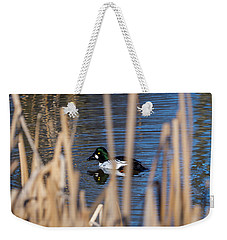 The Common Goldeneye Male Weekender Tote Bag