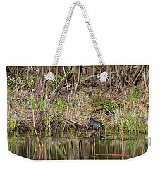 The Common Moorhen Weekender Tote Bag