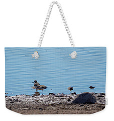 The Common Sandpiper Weekender Tote Bag