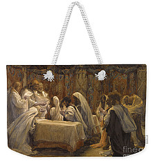 The Communion Of The Apostles Weekender Tote Bag