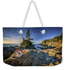 Weekender Tote Bag featuring the photograph The Compass by Rick Berk