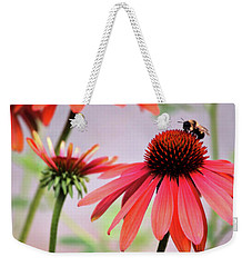 The Coneflower Collection Weekender Tote Bag