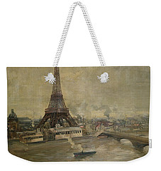 The Construction Of The Eiffel Tower Weekender Tote Bag