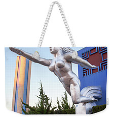 The Contralto Statue, The State Fair Of Texas Esplanade Weekender Tote Bag