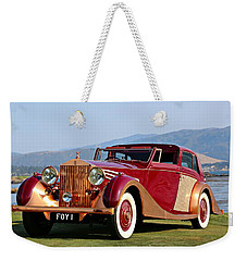 The Copper Kettle Rolls-royce Weekender Tote Bag