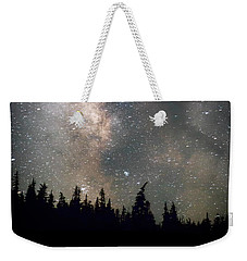 Weekender Tote Bag featuring the photograph The Core by Cat Connor