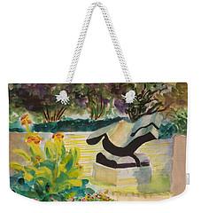 The Corinthian Garden Weekender Tote Bag