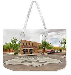 The Corner In Winslow Weekender Tote Bag