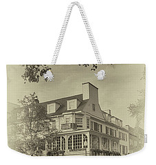 The Corner Room In Sepia Weekender Tote Bag by Tom Gari Gallery-Three-Photography