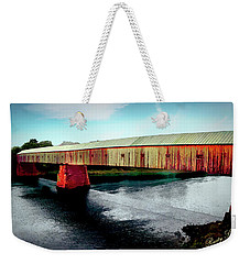 The Cornish-windsor Covered Bridge  Weekender Tote Bag