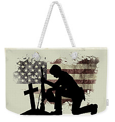 The Cost Of Freedom Weekender Tote Bag
