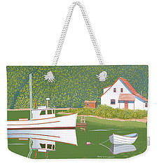 The Cottage At Blackberry Point Weekender Tote Bag
