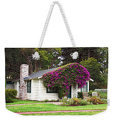 Weekender Tote Bag featuring the photograph The Honeymoon Cottage At Mission Ranch by Glenn McCarthy