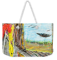The Cottage By The River Weekender Tote Bag