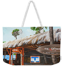 The Cottage On Siesta Key Weekender Tote Bag