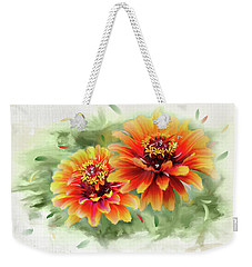 The Couple Weekender Tote Bag by Mary Timman