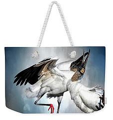 The Courtship Dance Weekender Tote Bag