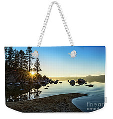 The Cove At Sand Harbor Weekender Tote Bag