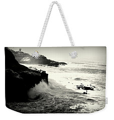 The Cove Weekender Tote Bag by Nature Macabre Photography
