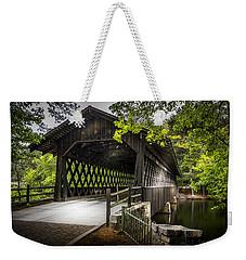 The Coverd Bridge Weekender Tote Bag