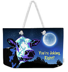 The Cow Jumps Over The Moon Weekender Tote Bag