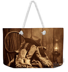 The Cowgirl Rest Weekender Tote Bag by American West Legend By Olivier Le Queinec