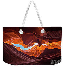 The Crack Weekender Tote Bag by JR Photography