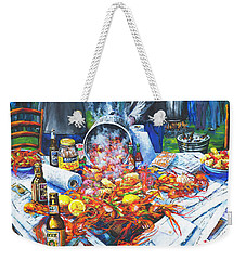 The Crawfish Boil Weekender Tote Bag